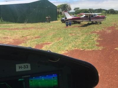 En operativo conjunto logran incautar aeronave y armas presuntamente vinculadas al narcotráfico