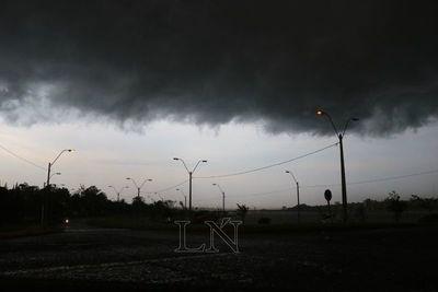 Alerta de tormentas para tres departamentos