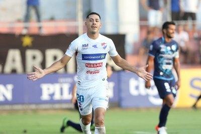 Con goleada, Nacional amarga el debut de Guaireña en la Primera