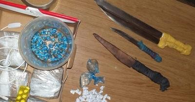 Incautan drogas en el penal de Concepción