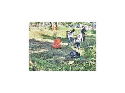 Combaten criaderos en el Parque Guasu