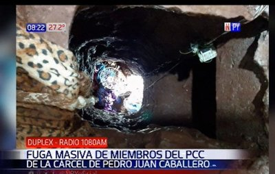 ¡Histórico! 91 reclusos se fugan de cárcel de Pedro Juan Caballero