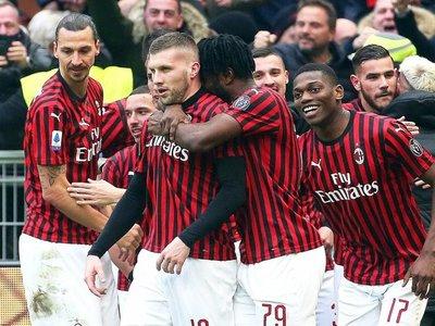 Golazos de Rebic y Theo Hernández prolongan el crecimiento del Milan