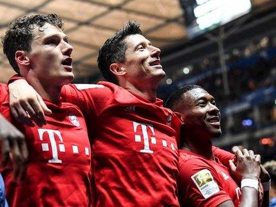 El Bayern se da un festín en Berlín