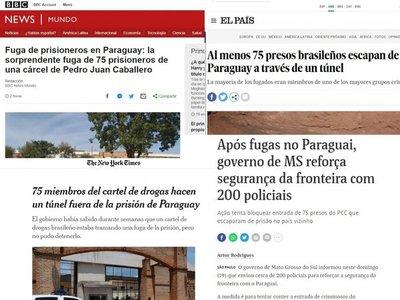 """Medios internacionales se hacen eco sobre la """"fuga de película""""  en PJC"""
