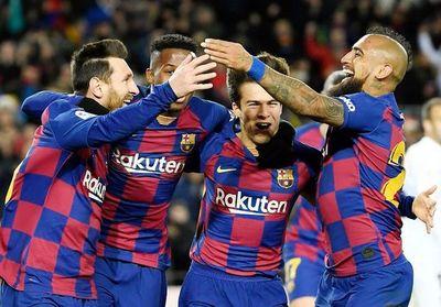 Barça, victoria y punta   con Setién
