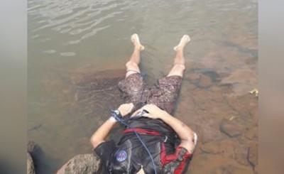 Encuentran cuerpo con imapctos de bala flotando en el Paraná