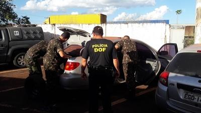 Policía brasileña de frontera recaptura a un fugado de Pedro Juan