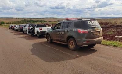 """Policía brasileña recaptura a un """"fugado"""" en Ponta Pora"""