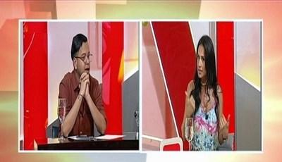 """Ángel Saracho discutió con Helem Roux en """"TeleShowMás"""""""