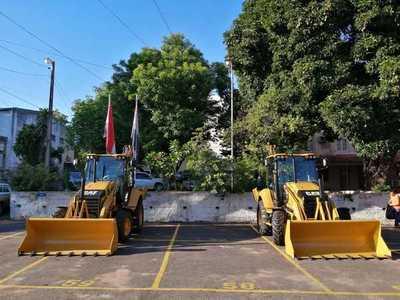 Essap invierte en adquisición de maquinarias para obras de agua potable y alcantarillado sanitario