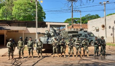"Cárcel Regional de CDE es reforzada tras ""fuga masiva"""