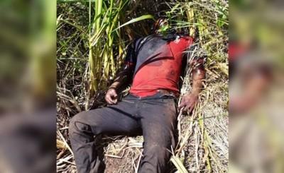 Joven encontrado muerto en yuyal del Km 10
