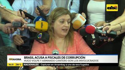 Brasil acusa a fiscales de corrupción