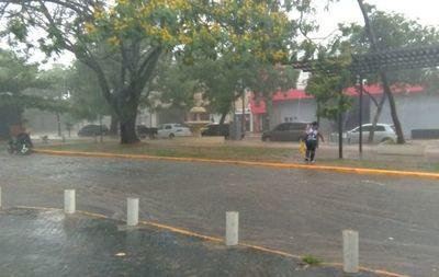 Emiten alerta por tormentas para nueve departamentos