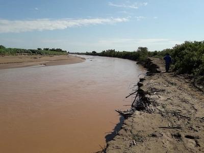 Río Pilcomayo registró su nivel más alto en la nueva embocadura