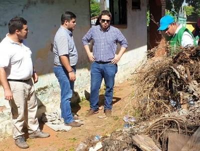 Ñemby: abren proceso penal contra dueños que no limpian sus casas