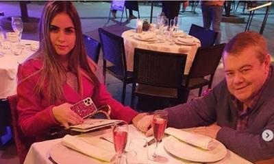 Lujosas compras y cenas románticas así continúa la luna de miel de Rodolfo Friedmann