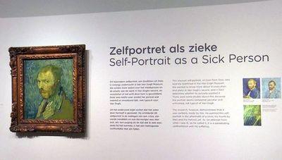 """El """"selfie"""" que se hizo Van Gogh en plena psicosis"""