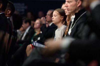 """Trump denuncia en Davos el """"catastrofismo"""" climático y Thunberg advierte que """"no se ha hecho nada"""""""