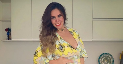 Rocío Núñez se encuentra en  la dulce espera