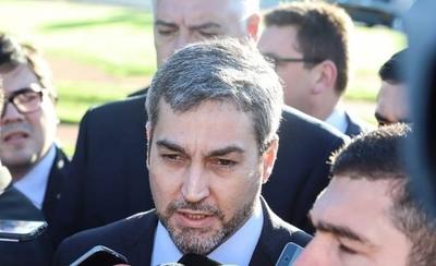 """HOY / ¿Mario Abdo tiene dengue? """"Está con malestar intermitente"""", dice Ministro de Salud"""