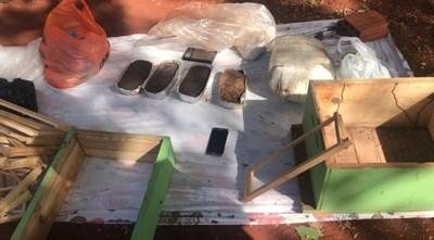 PJC: Allanaron vivienda buscando prófugos y terminaron encontrando 20 kilos de cocaína