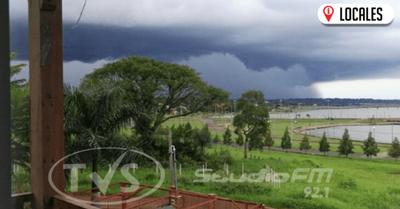 Alerta por lluvias y tormentas eléctricas para nueve departamentos