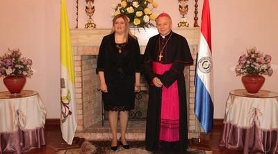 Fiscal General se reunió con el Nuncio Apostólico