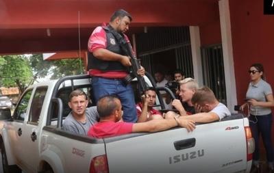 Yby Yaú: Detienen a 4 brasileros y a un paraguayo