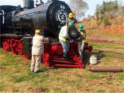 Tren del Lago: Ultiman detalles para funcionamiento de la locomotora 60