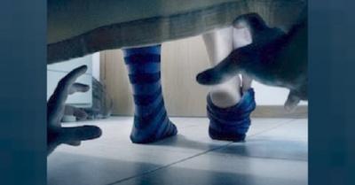 ¿Ladrón debajo de la cama?