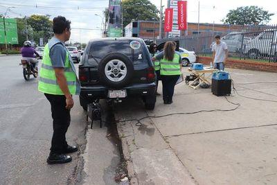 En Asunción vuelve el control del humo negro