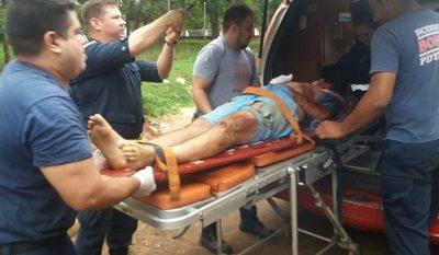 Policía y delincuente heridos durante enfrentamiento en Franco