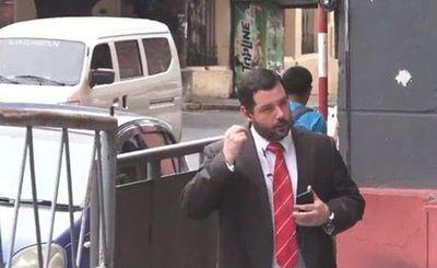 Hugo Volpe se presenta en Fiscalía y pide acceder a carpeta fiscal en su contra