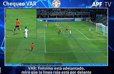 La APF da a conocer video del VAR en gol anulado a General Díaz