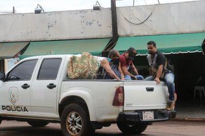 Exguardiacárceles son trasladados a la penitenciaría de Pedro Juan