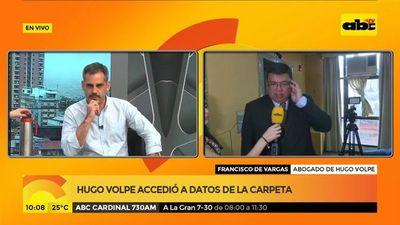 Hugo Volpe accedió a datos de la carpeta