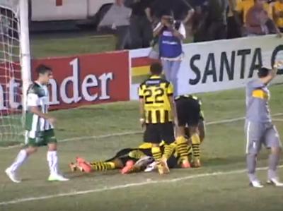 Mirá la victoria de Guaraní por 4-1 sobre Oriente Petrolero