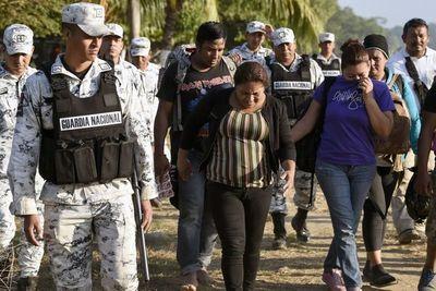 México intenta disuadir a migrantes de cruzar ilegalmente a su territorio