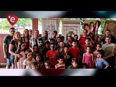 GOBERNACIÓN REALIZÓ JORNADA DE ATENCIÓN EN EL CENTRO ''LUCERITO'' DE ENCARNACIÓN
