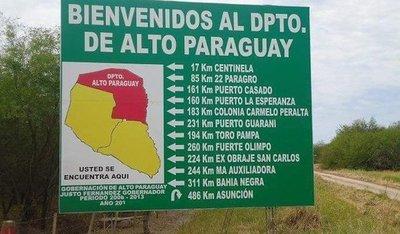 Emergencia departamental por dengue en Alto Paraguay