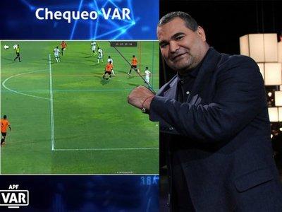 Chilavert se burla del VAR del juego Olimpia-General Díaz
