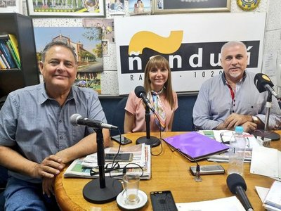 Bacigalupo anuncia cursos de capacitación para cuatro departamentos