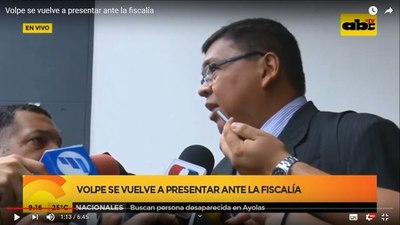 "Caso Minotauro: Bolígrafo para Hugo Volpe era ""un presente de corazón"", afirmaron"