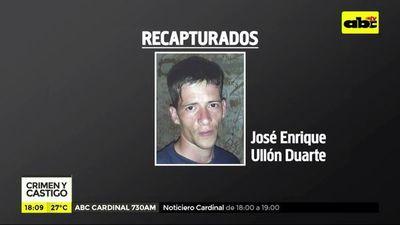 Recapturan en Concepción a tres fugados