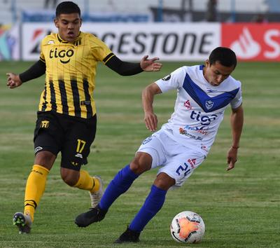 Guaraní pega fuerte en la ida ante San José