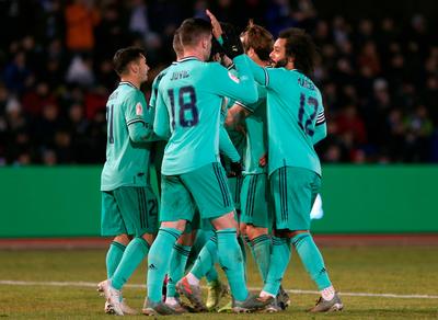 Real Madrid no falla ante el Unionista
