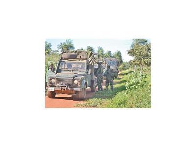 El departamento está dentro de la ley de militarización