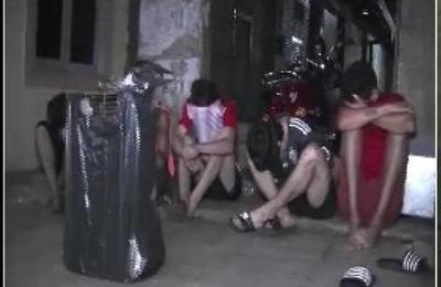 Cinco jóvenes fueron detenidos en la zona del Mercado 4